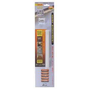 LEDエコスリム 連結用 4W 電球色(全光束240lm) 長さ220mm LT-NLD40L-HL akibaoo
