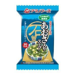 化学調味料無添加 あおさ入りスープ 5.5g|akibaoo