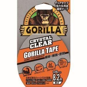 Gorilla Glue ゴリラ強力多用途補修テープ クリスタルクリア 48mm×8.2mの商品画像|ナビ