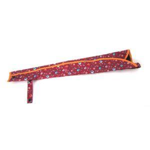 サギサカ 車椅子 傘 杖ホルダー レッド花柄 76102 車イス シルバーカー akibaoo