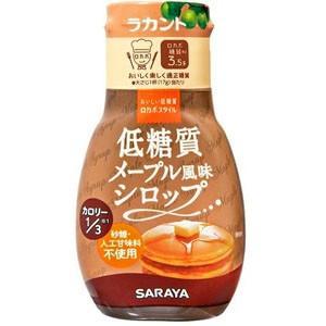ロカボスタイル 低糖質 メープル風味シロップ 165g 賞味2020 2 の商品画像|ナビ