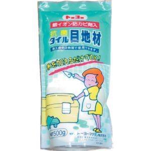 トーヨーマテラン MATERAN S抗菌タイル目地材 白 0.5kg (1個入) NO5123|akibaoo