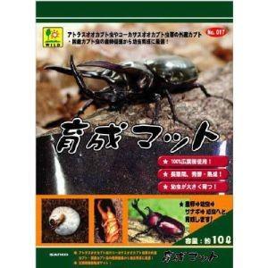 三晃商会 SANKO 育成マット 10L 天然広葉樹材 外産国産カブトムシ 幼虫飼育|akibaoo