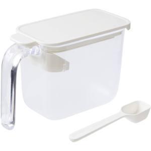 マーナ 調味料ポット ホワイト|akibaoo