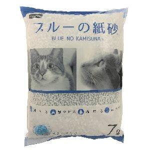 ペットプロ ペットプロ ブルーの紙砂 7Lの商品画像|ナビ