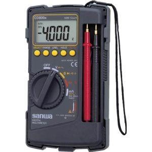 標準・ケース一体型デジタルマルチメータ CD800a|akibaoo