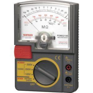 絶縁抵抗計 小型 定格電圧3レンジ式 アナログ PDM5219S|akibaoo