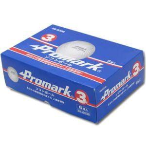 ソフトボール練習球3号 6球入 WH SB-8036|akibaoo