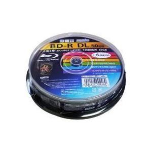 ■一度だけ録画が可能な高容量BD-R DLディスク10枚パック■6倍速の高速書き込みに対応■インクジ...