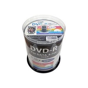 HDDR47JNP100 DVD-R DVDR データ用 16倍速100枚|akibaoo