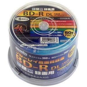 HDBDRDL260RP50 BD-R BDR DL 50GB 6倍速50枚|akibaoo