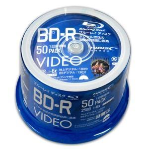 VVVBR25JP50 BD-R BDR 25GB 6倍速50枚 耐久力 ハードコート仕様|akibaoo