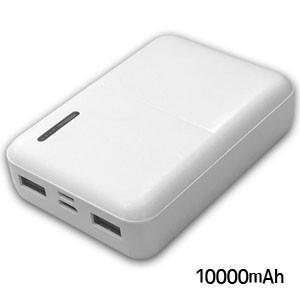 モバイルバッテリー10000mAh USB Type-C対応 HD-MB10000CTWH|akibaoo