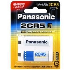 パナソニック 2CR5 カメラ用リチウム電池 Panasonic|akibaoo