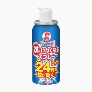 金鳥 蚊がいなくなるスプレー 255日 無香料 24時間 55mL akibaoo