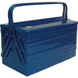 トラスコ 3段式工具箱 412X220X343 ブルー GT-410-B メーカー直送 代引不可 北海道沖縄離島不可 akibaoo
