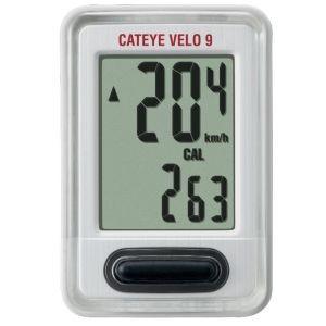 キャットアイ CATEYE サイクルコンピュータ VELO 9 ベロ9 ホワイト CC-VL820
