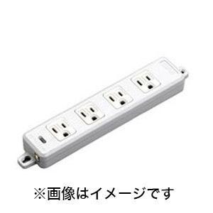 横形OA用接地タップ4コ口 ランプ、マグネット付 VCTF1m接地プラグ付 MR7704TJ1|akibaoo