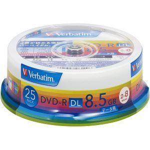 DHR85HP25V1 DVD-R DVDR DL データ用 8倍速25枚|akibaoo
