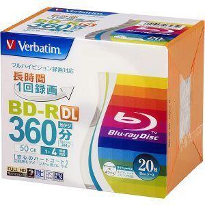 VBR260YP20V1 BD-R BDR DL 50GB 4倍速20枚|akibaoo