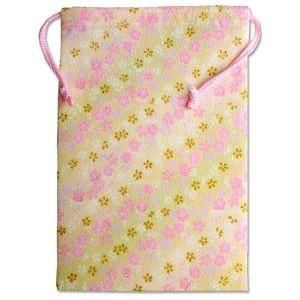 【メール便選択可】静岡木工 御朱印帳袋 桜黄色 巾着|akibaoo
