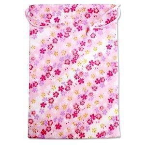 【メール便選択可】静岡木工 御朱印帳袋 桜ピンク 巾着袋|akibaoo