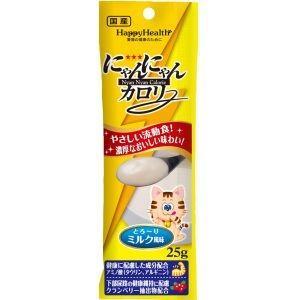 アース・ペット EARTH HappyHealth にゃんにゃんカロリー ミルク風味 25g|akibaoo