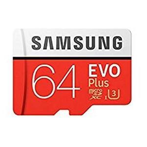 【microSDXC 64GB】【UHS-I U3】【Class10】アダプタ付 MB-MC64GA EVO+シリーズ akibaoo