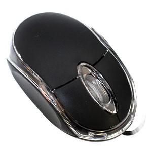 光学式有線マウス ブラック MS-BK1|akibaoo