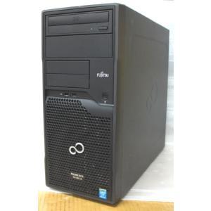 [中古] 静音仕様 ミニタワー型 Linuxサーバー 富士通 PRIMERGY TX100 S3 [2](2コア Pentium-G2120 3.1GHz/8GB/250GB SATA/DVD/CentOS6.7)|akibapalette