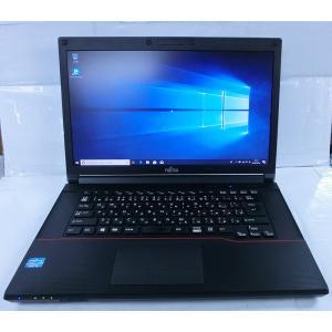 [中古] 大画面15インチ 高性能i5 高コスパ おススメPC 富士通 Lifebook A573/G(Core i5-3340M 2.7GHz/4GB/320GB/DVDRW/Wi-Fi/Windows10-64bit)|akibapalette