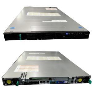 [中古] 8コア動作! XeonE5 1Uサーバ 日立 HA8000/RS210 HM1 [2] (4コア Xeon E5-2609 2.4GHz*2/16GB/300GB*2/DVD/CentOS6.7)|akibapalette
