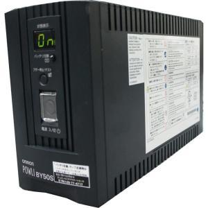 [中古] 小型でコンパクト! 家庭でのデジタル家電の保護に! OMRON 設置型 小型無停電電源装置 POWLI BY50S (100V*4口 / 500VA&300W) akibapalette