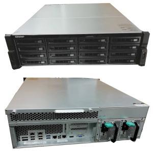 [中古]30TB 即使用可 QNAP TS-EC1679U-RP 高性能NAS 3TB*14+SSD300GB*2 SSDキャッシング済 (E3-1225 3.1GHz/12GB/ファーム最新)|akibapalette