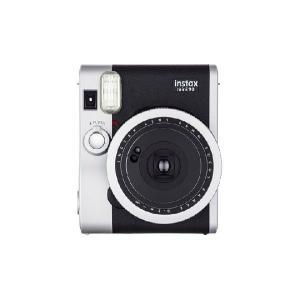 インスタントカメラ instax mini 90 (チェキ) ネオクラシックブラック