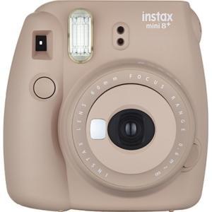 インスタントカメラ instax mini 8+ (チェキ8プラス) ココア akibasoko