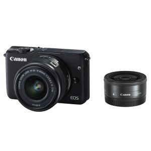EOS M10 ダブルレンズキット (ブラック)/Canon