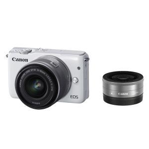 EOS M10 ダブルレンズキット (ホワイト)/Canon
