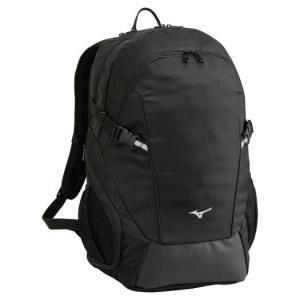 【送料無料】ミズノ チームバックパック 6ポケット(40L) ブラック Mizuno 33JD0101 09|akichan-do