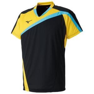 【在庫処分】【送料無料】ミズノ ゲームシャツ(ラケットスポーツ) ブラック Mizuno 72MA8005 09 akichan-do