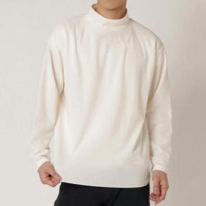 【在庫処分】【送料無料】ミズノ ブレスサーモライトインナーモックネックシャツ メンズ プリスティンホワイト Mizuno B2MA0538 02 akichan-do