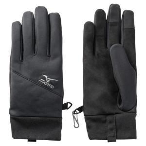【在庫処分】【送料無料】ミズノ ブレスサーモテックシールド手袋 メンズ ブラック Mizuno C2JY9636 09|akichan-do