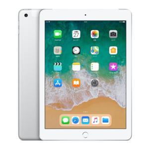 SIMフリー iPad 6th (2018) Wi-Fi Cellular 128GB 9.7inch [Silver] 新品 未開封 MR732J/A タブレット Model A1954|akimoba