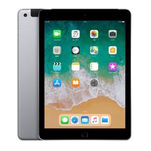 SIMフリー iPad 6th (2018) Wi-Fi Cellular 128GB 9.7inch [SpaceGray] 新品未開封 MR722J/A タブレット Model A1954|akimoba