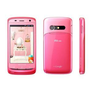 IS11N MEDIAS BR au ピンク [Pink] NEC 未使用品 白ロム スマートフォン|akimoba