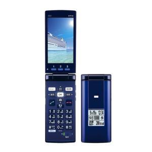 KYF32 かんたんケータイ au 青 [Blue] KYOCERA 新品 未使用品 白ロム スマートフォン #03|akimoba