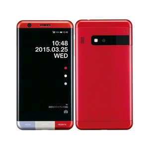 KYV33 INFOBAR A03 au 赤 [NISHIKIGOI] KYOCERA 新品 未使用品 白ロム スマートフォン|akimoba