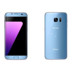 SC-02H Galaxy S7 edge docomo 青 [Blue Coral] 新品 未使用 Samsung 白ロム スマートフォン