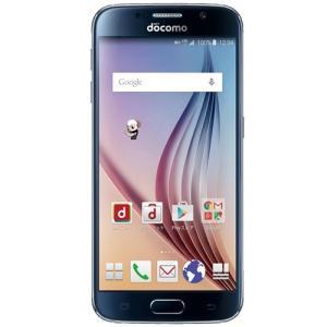 SC-05G Galaxy S6 docomo 黒 [Black Sapphire] 新品 未使用 Samsung 白ロム スマートフォン