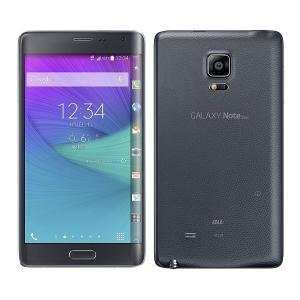 SCL24 GALAXY Note Edge au 黒 [Charcoal Black] Samsung 未使用品 白ロム スマートフォン|akimoba